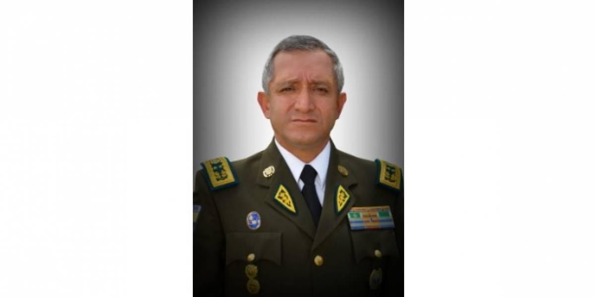 Patricio Carrillo es el nuevo Comandante General de la Policía Nacional