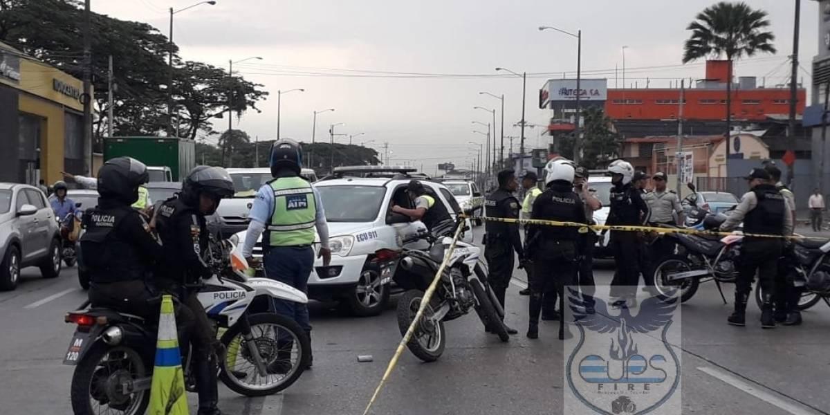 Fiscal y policía que disparó a menor en la Juan Tanca Marengo recibieron amenazas de muerte
