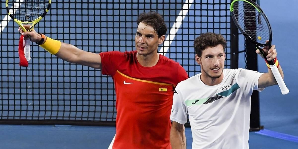 VIDEO. España le gana a Bélgica y pasa a semifinales de ATP Cup
