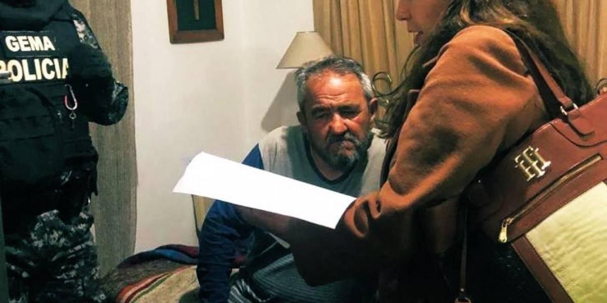 Juez dictó medidas sustitutivas al padre de Gabriela Rivadeneira