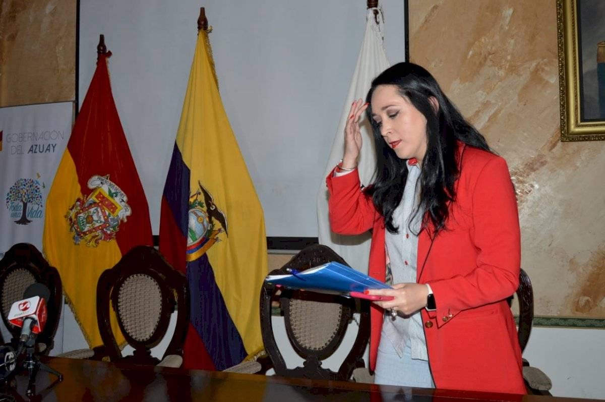 Secretaría Anticorrupción, Dora Ordóñez