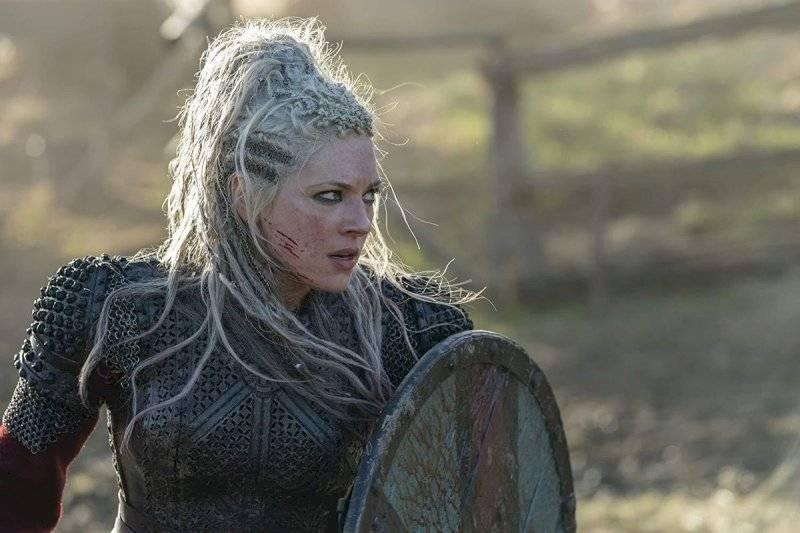 Lagertha, vikingos Internet