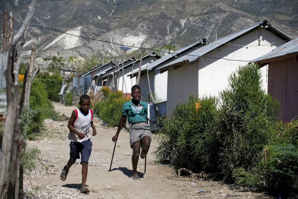 """En una reciente entrevista, el presidente haitiano, Jovenel Moise, reconoció que los resultados de la reconstrucción """"no son satisfactorios""""."""