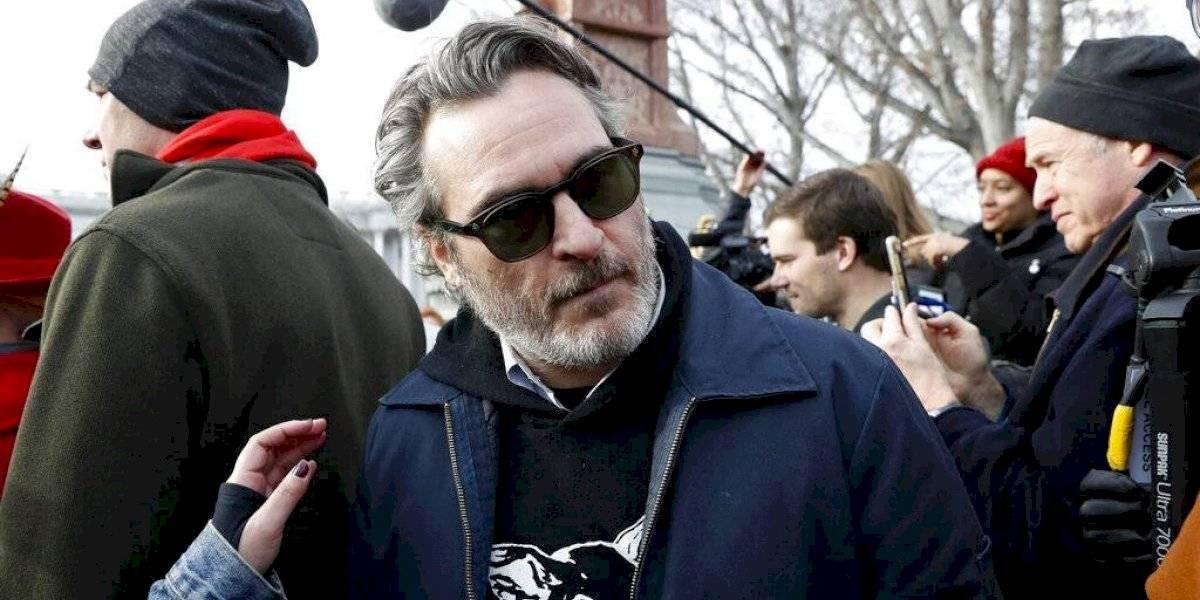 Joaquin Phoenix es detenido tras participar en protesta ambiental
