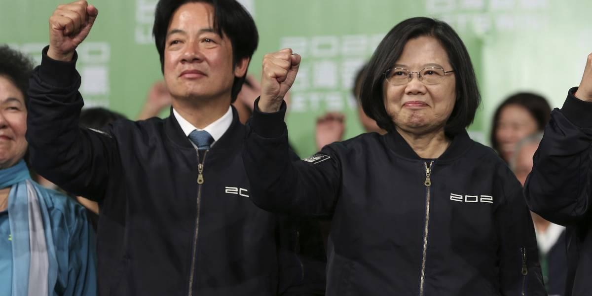 China reitera su oposición a la independencia de Taiwán tras elecciones