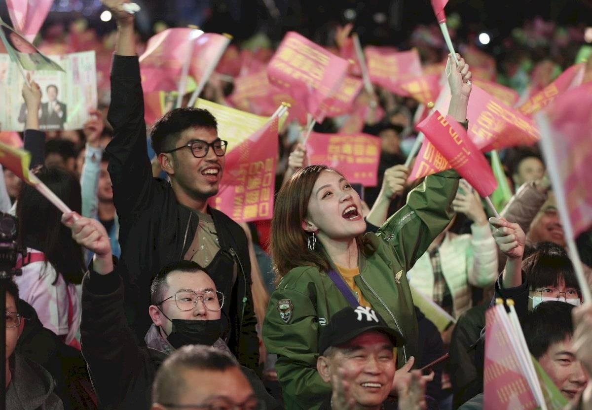 Las elecciones estaban marcadas por el deterioro de las relaciones entre Taipéi y Beijing desde que Tsai llegó al cargo en 2016