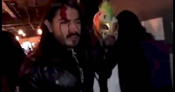 Rey Gupero es golpeado por Carlos Trejo