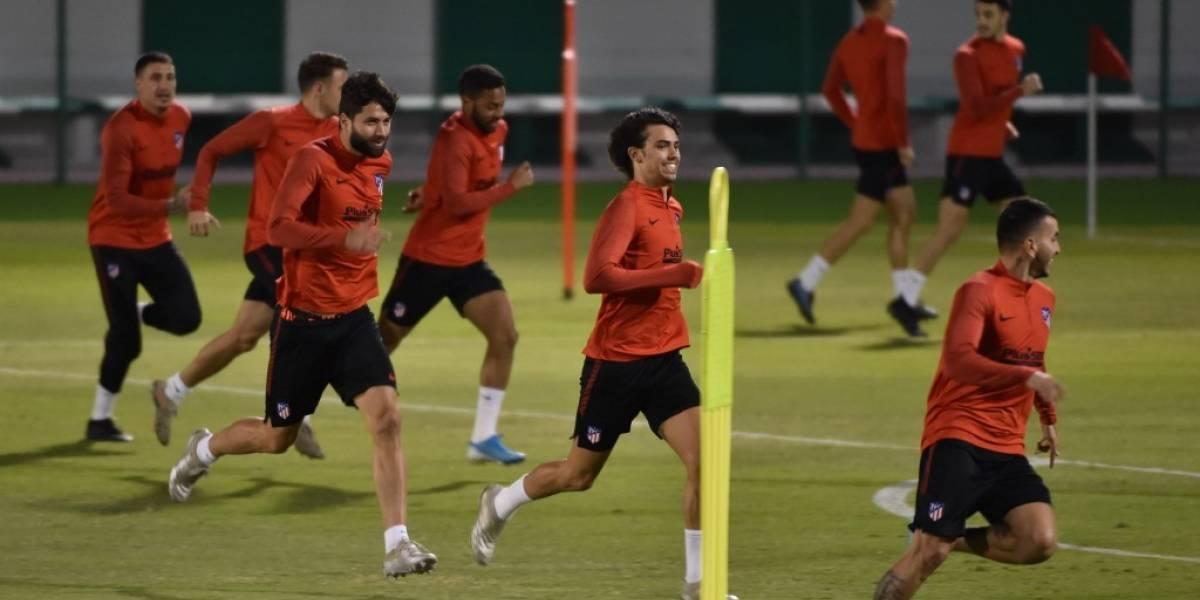 Jan Oblak ausente en el último entreno del Atlético de Madrid