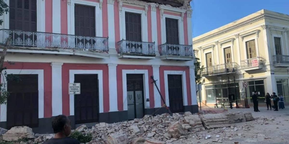 Cierran casco urbano de Ponce por estructuras afectadas