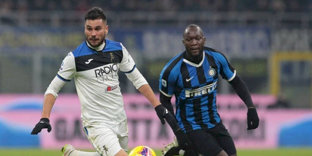 Con Alexis Sánchez en la banca: Atalanta le robó un empate al Inter de Milan por Serie A