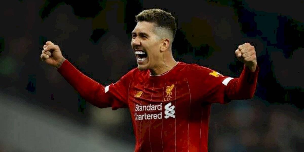 Liverpool sigue intratable y derrotó al Tottenham en el partido más atractivo de la jornada en la Premier League