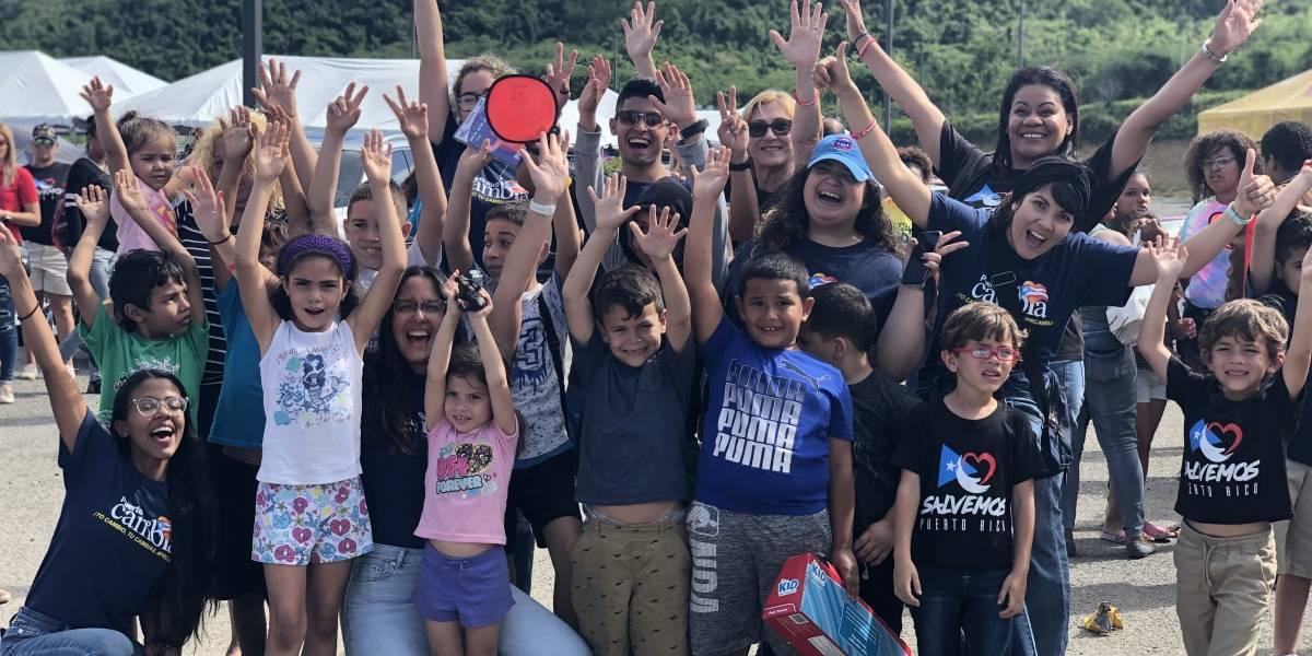Llevan alegría y esperanza al área sur de la isla tras terremotos