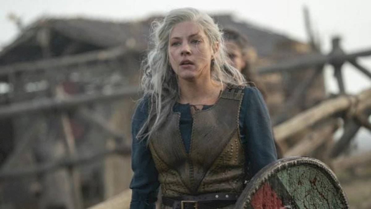 Lagertha en la sexta temporada de Vikingos Internet