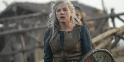 Lagertha en la sexta temporada de Vikingos