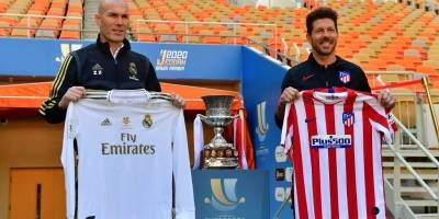 Zinedine Zidane y Diego Simeone