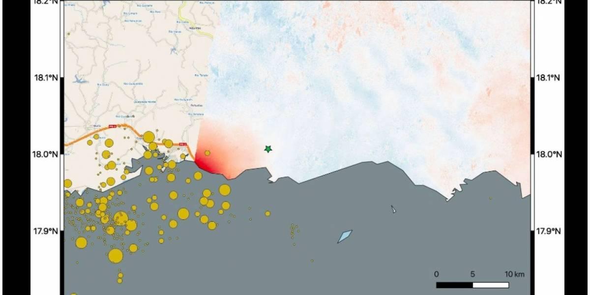 NASA documenta desplazamiento de Puerto Rico por terremotos