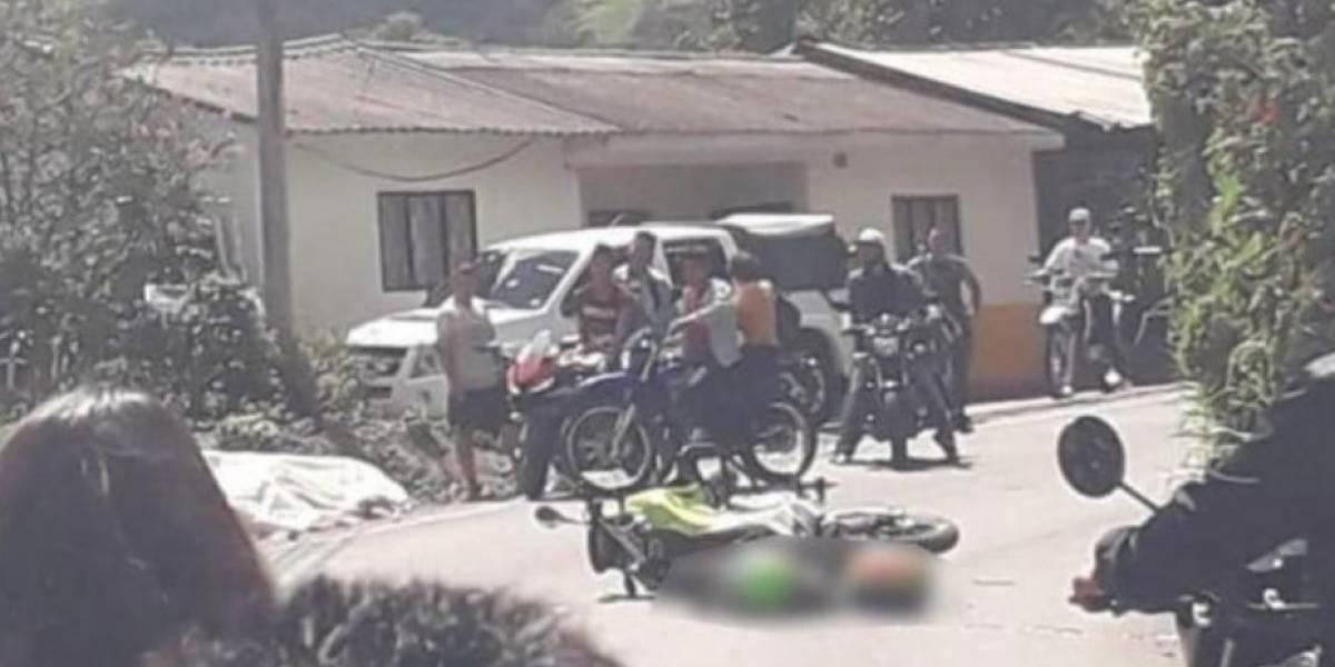Un policía muerto y dos soldados heridos deja ataque del ELN en Nariño
