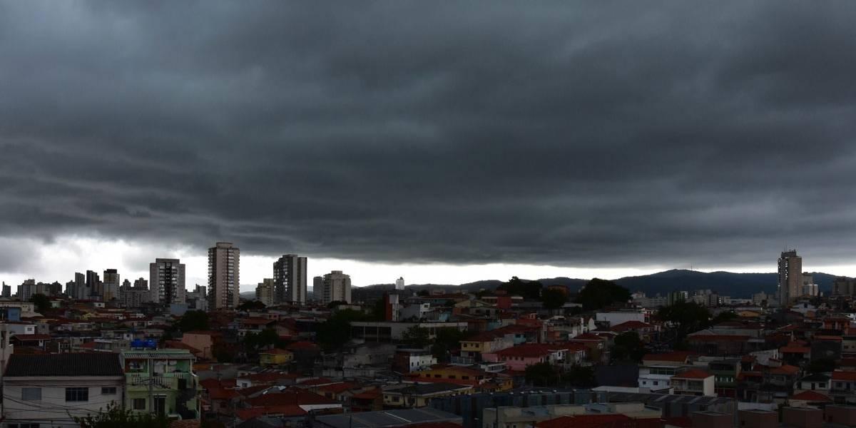 Prepare-se! Domingo será de chuvas volumosas em toda Grande São Paulo