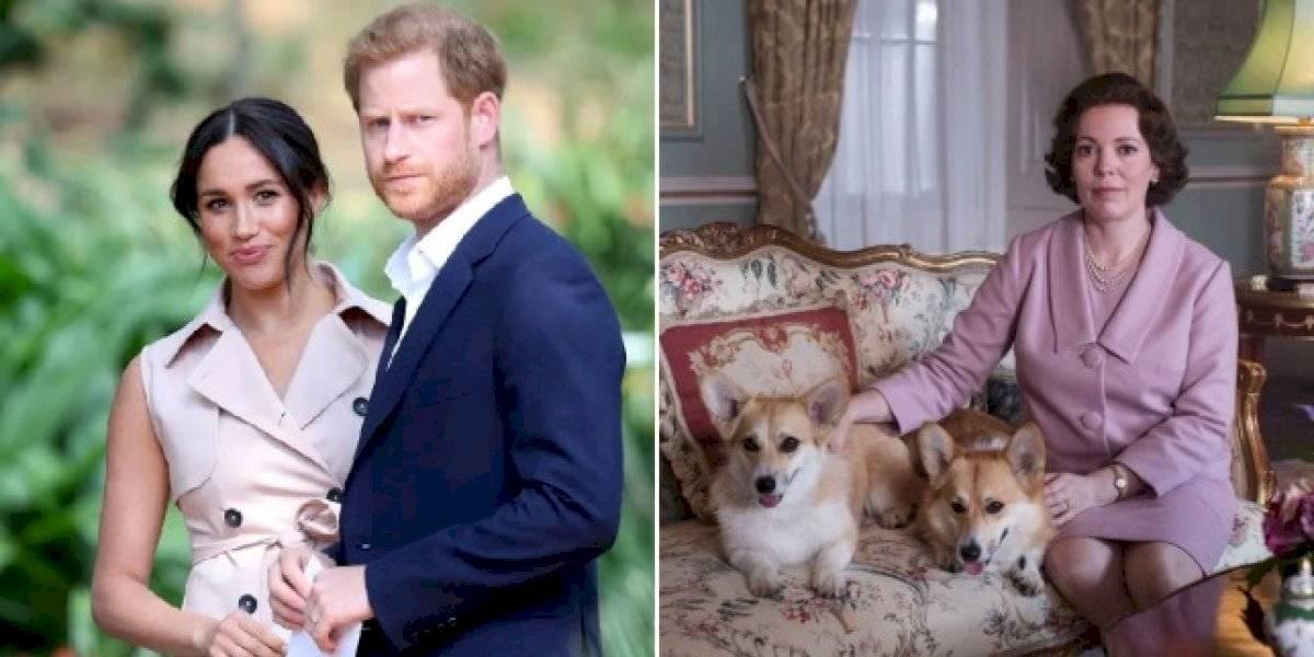 """Las razones del creador de """"The Crown"""" para no abordar la salida del Príncipe Harry y Meghan Markle de la realeza en la serie"""