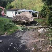 Derrumbe en barrio Vaca en Villalba