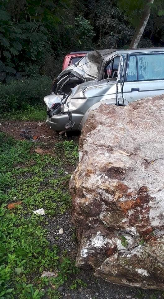 Derrumbe en barrio Vaca en Villalba suministrada
