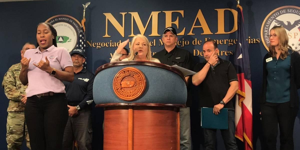 Gobernadora firma declaración de desastre mayor