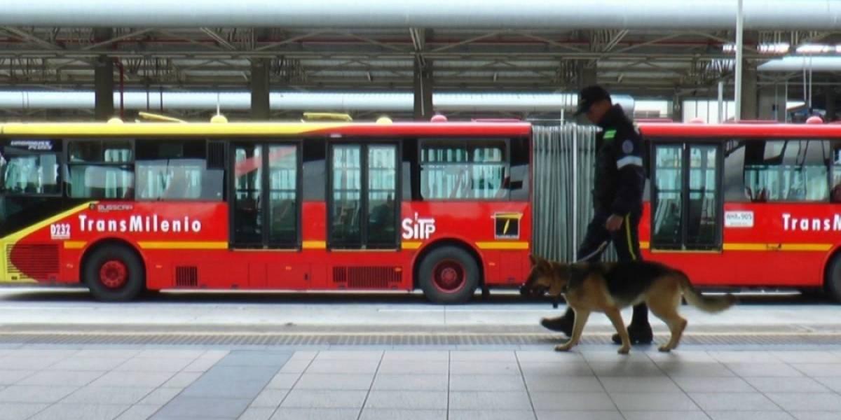 Claudia López anuncia el retiro de los perros anticolados en TransMilenio