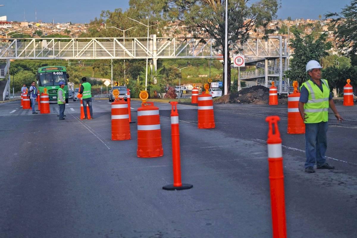 Anuncian nuevos cierres por obras en el Periférico