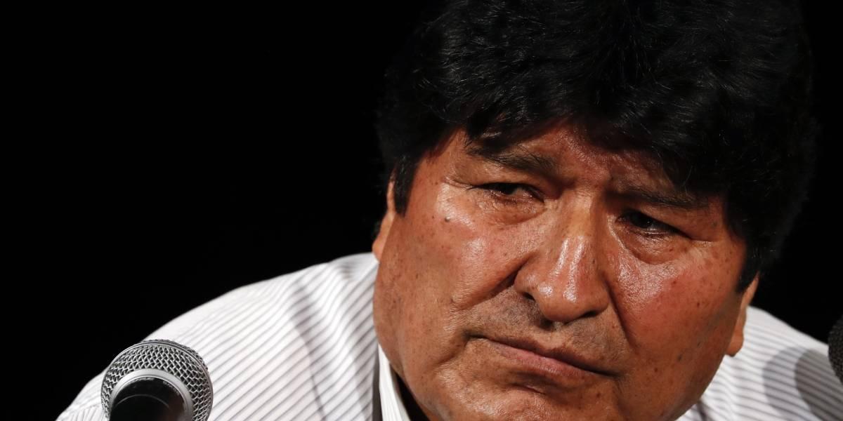 Morales convoca a organizar milicias armadas en Bolivia