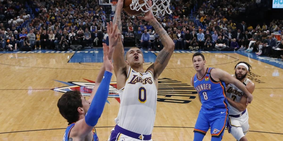Lakers vencen al Thunder de Oklahoma