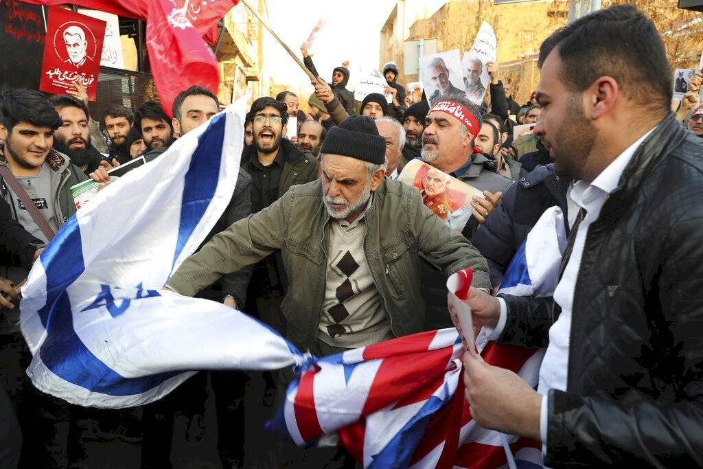 Manifestación Irán