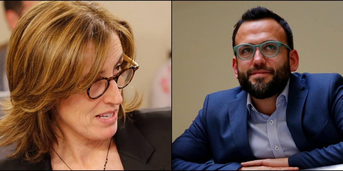 """Diputado Vidal con todo contra ministra Cubillos por boicot a la PSU: """"Prefirió esconderse, meter la cabeza en un hoyo"""""""