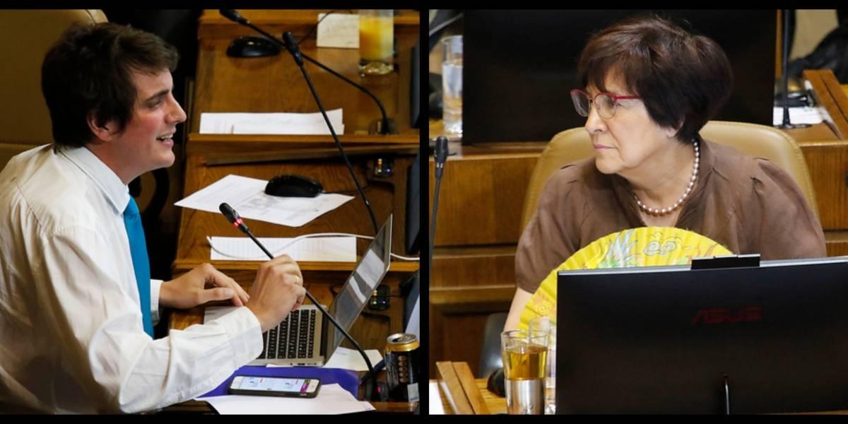 """Por favor cállese Shalper"": la dura pelea entre Carmen Hertz y Diego Shalper sobre responsabilidades del estallido social"