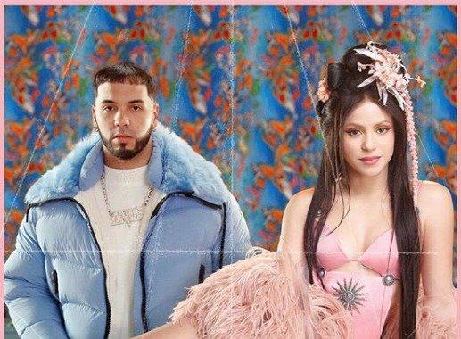 Shakira y Anuel AA lanzan nuevo sencillo Instagram