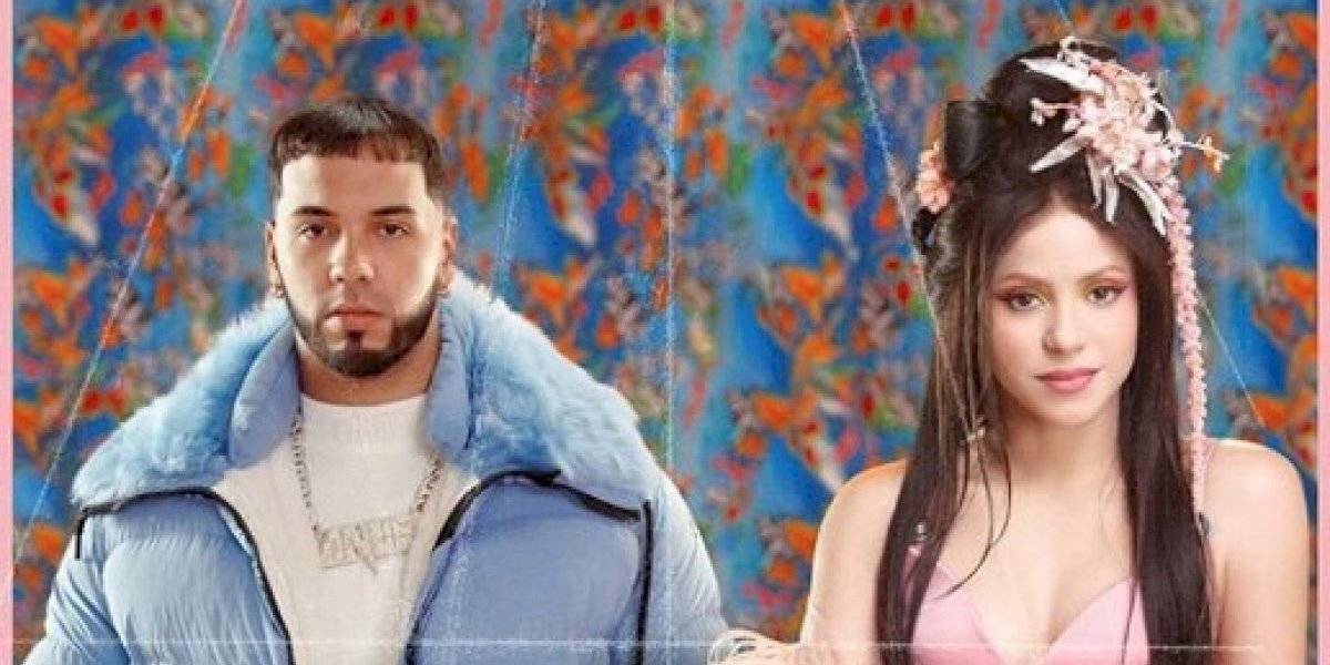 Shakira y Anuel AA aparecen en el Times Square y generan críticas