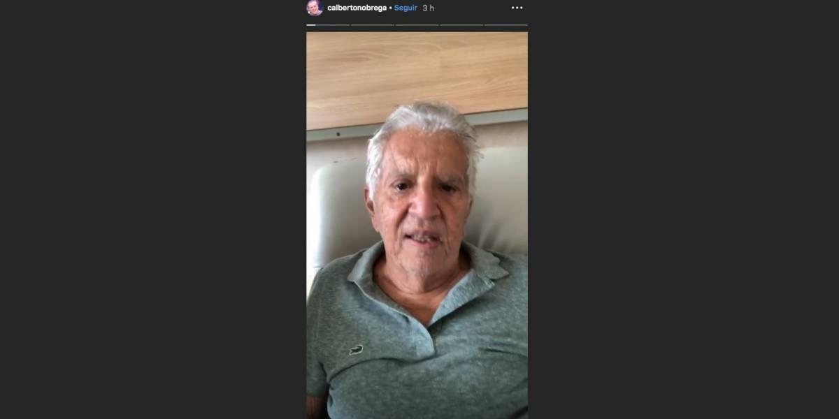 Carlos Alberto de Nóbrega é internado após tomar iogurte vencido sem perceber