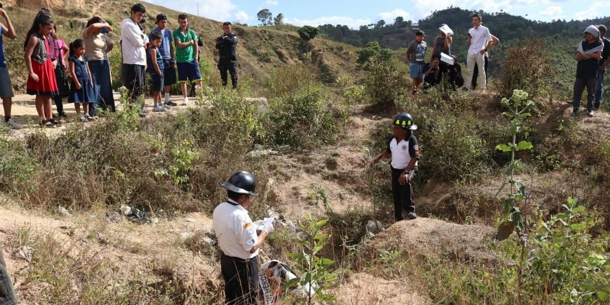 Localizan cuerpo de un hombre degollado en La Lagunilla, San Pedro Ayampuc