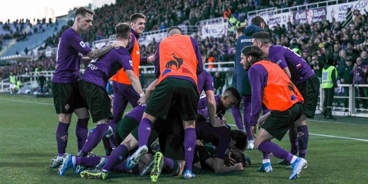 La Fiorentina de Erick Pulgar volvió a los festejos después de ocho partidos en Serie A