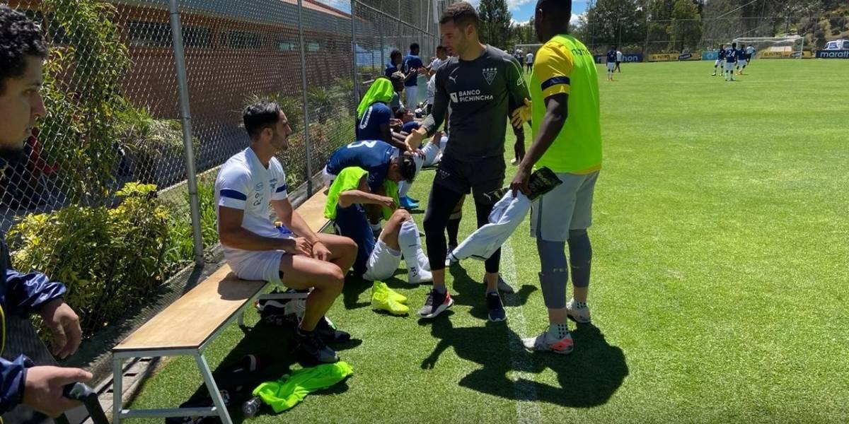 Liga de Quito ganó 2-0 a la Selección de Ecuador sub 23 de Jorge Célico