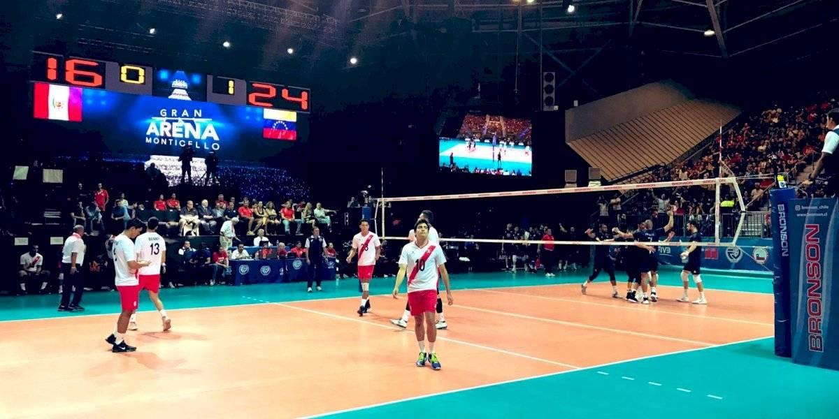 Chile eliminado en el Preolímpico de vóleibol tras contundente victoria de Venezuela sobre Perú