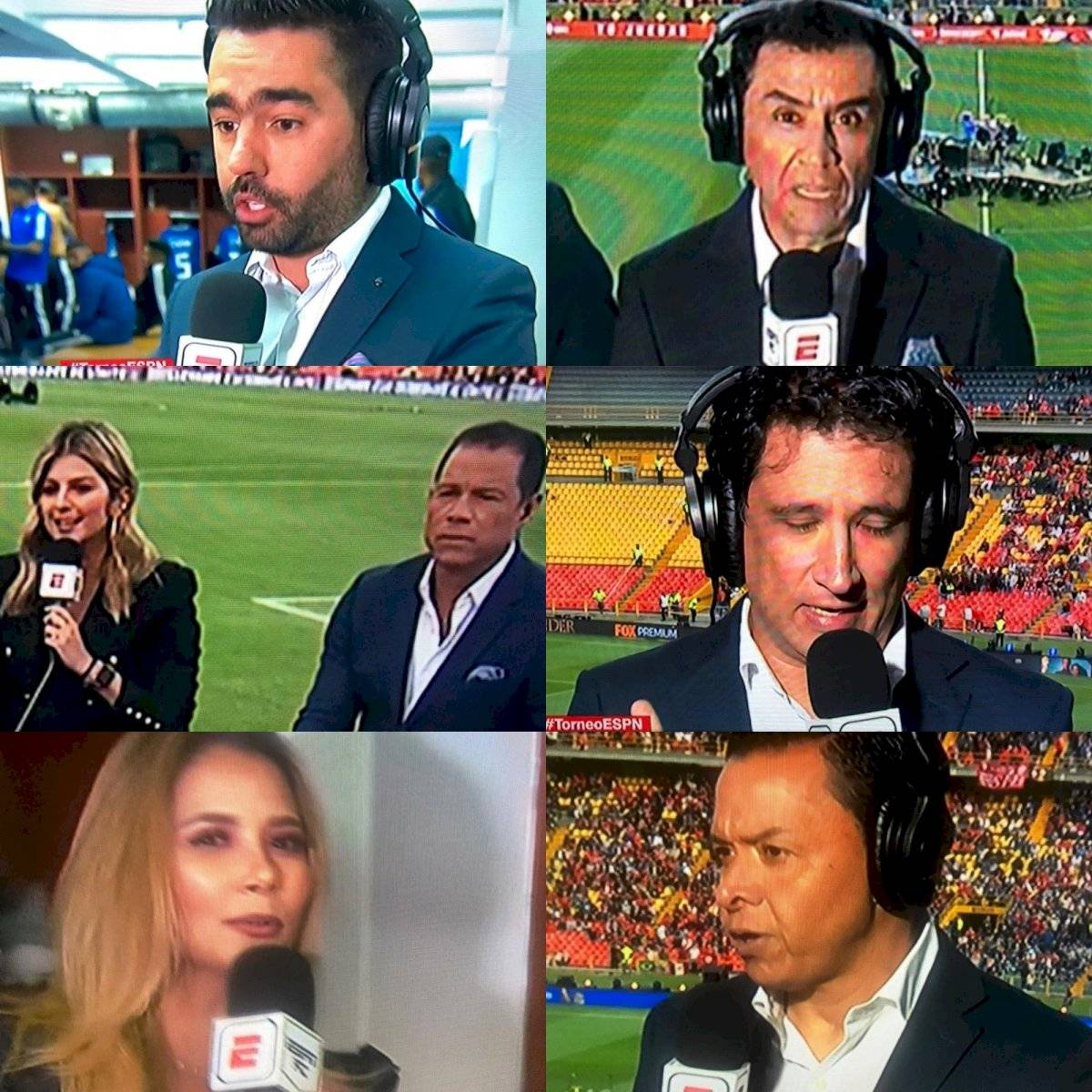 periodistas Fox Sports Colombia que llegaron a ESPN Colombia