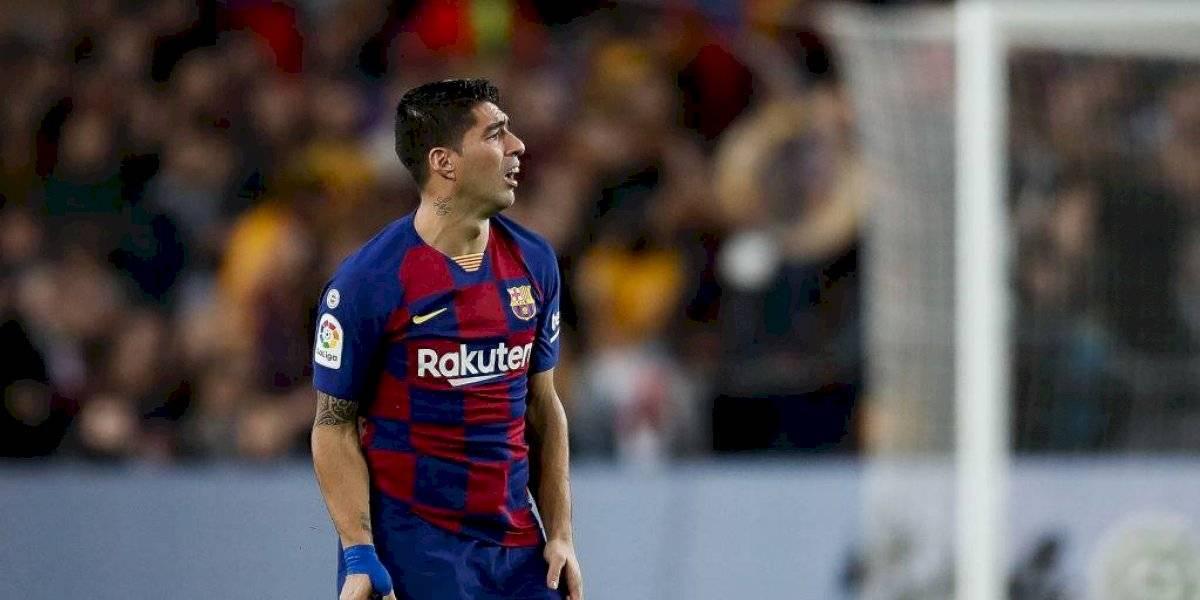 El goleador por el que va el Barcelona ahora que se lesionó de gravedad Luis Suárez