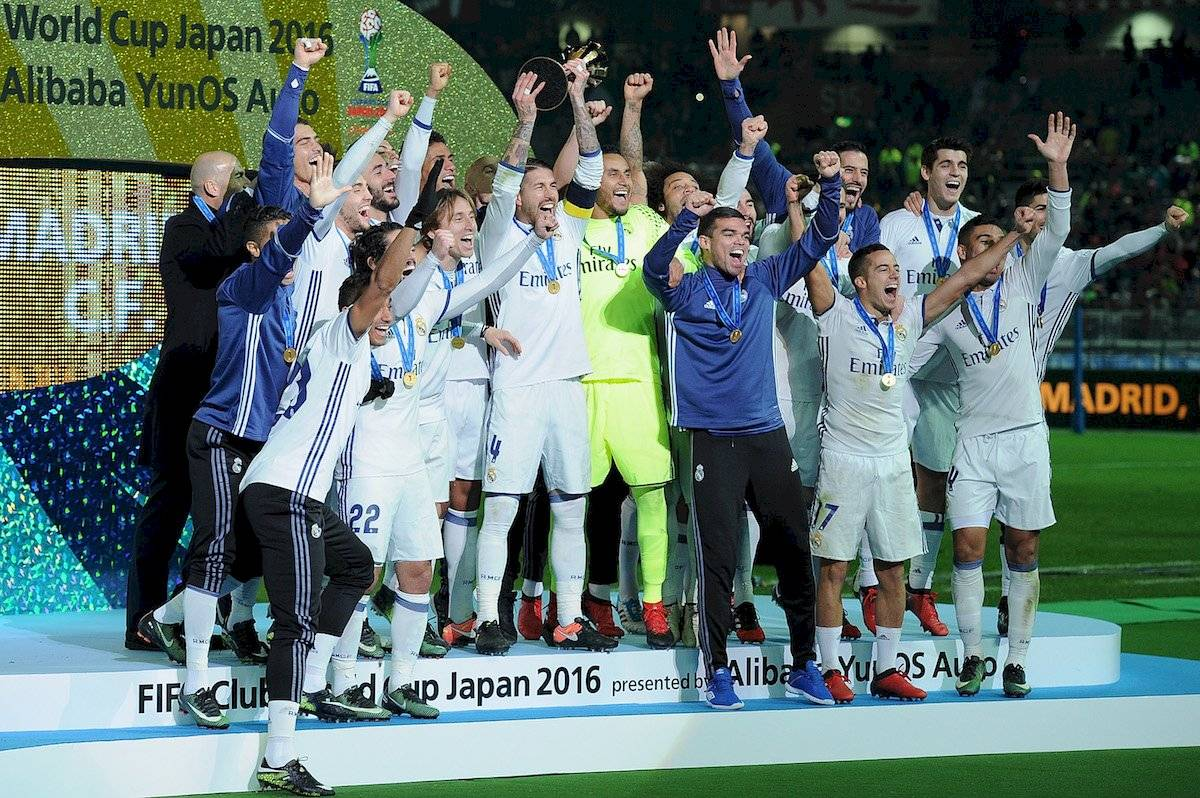 Real Madrid Mundial Clubes 2016
