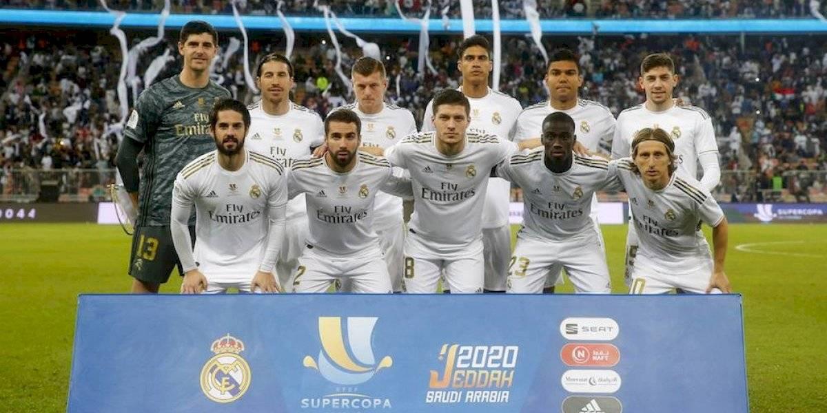 Real Madrid se proclama campeón de la Supercopa de España