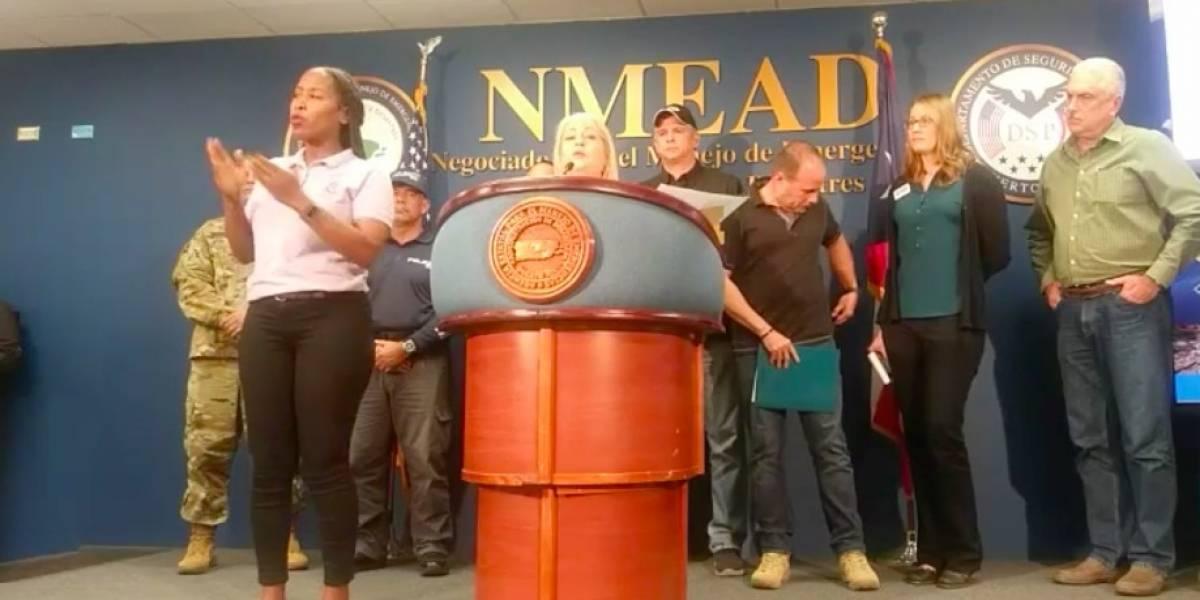 FEMA se expresa sobre intérprete de señas denunciada por comunidad sorda