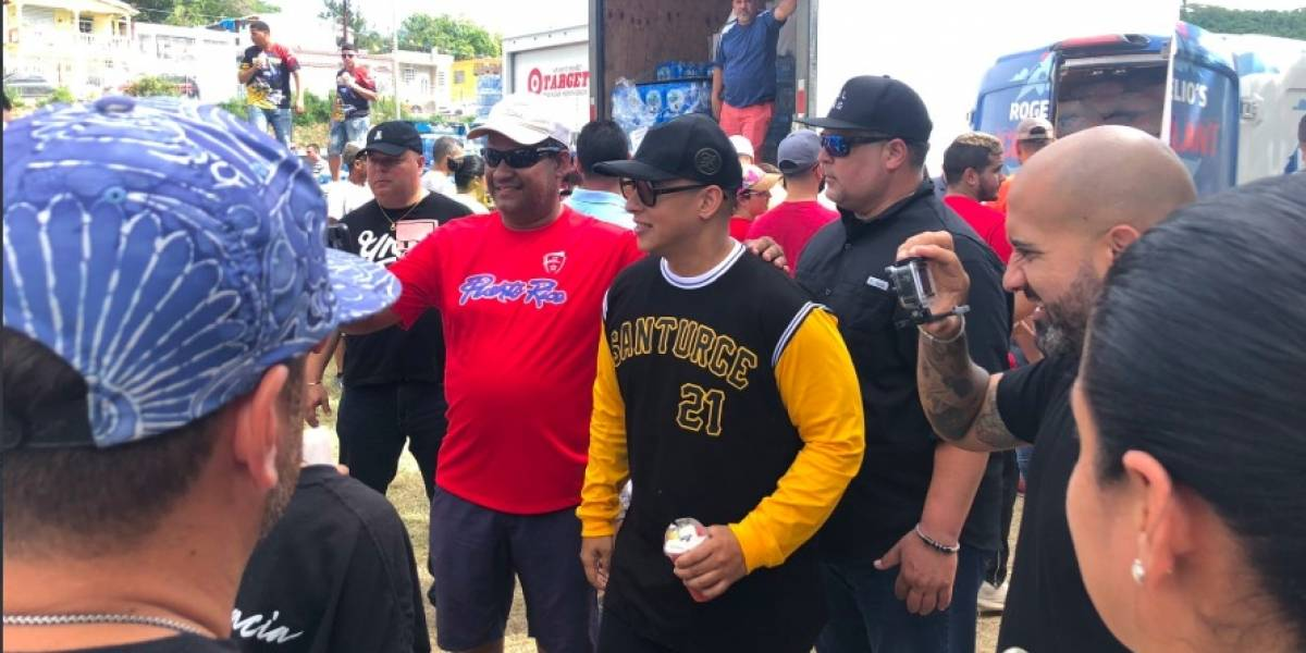 Daddy Yankee y Pina llegan al sur con ayudas para damnificados por terremotos