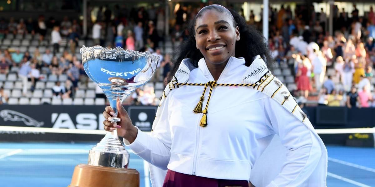 Serena Williams conquista su primer título en tres años