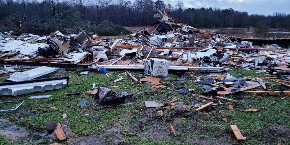 Tormentas y tornados dejan al menos 11 muertos en Estados Unidos