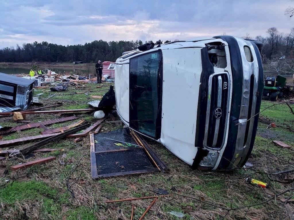 Tormentas y tornados en Estados Unidos