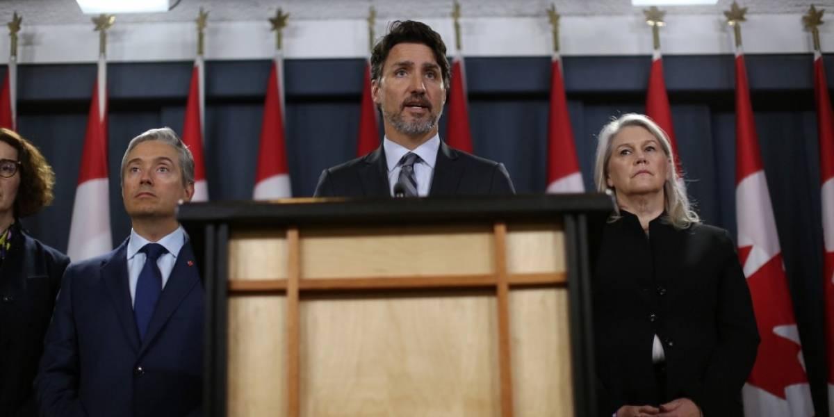 Trudeau exige a Irán que rinda cuentas por avión ucraniano derribado